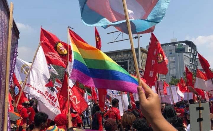 Woman March 2019 yang berlangsung di Jakarta